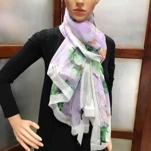 Cejon Summer Splash Over sized Scarf  Lilac